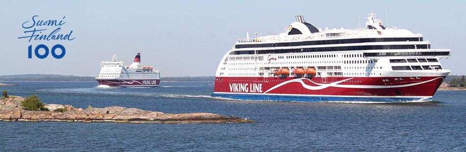 viking line 50 år Viking Line värnar om Östersjön – Finland 100   Viking Line viking line 50 år